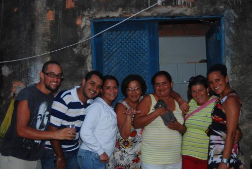 nuestra familia adoptiva en Pontal do Peba