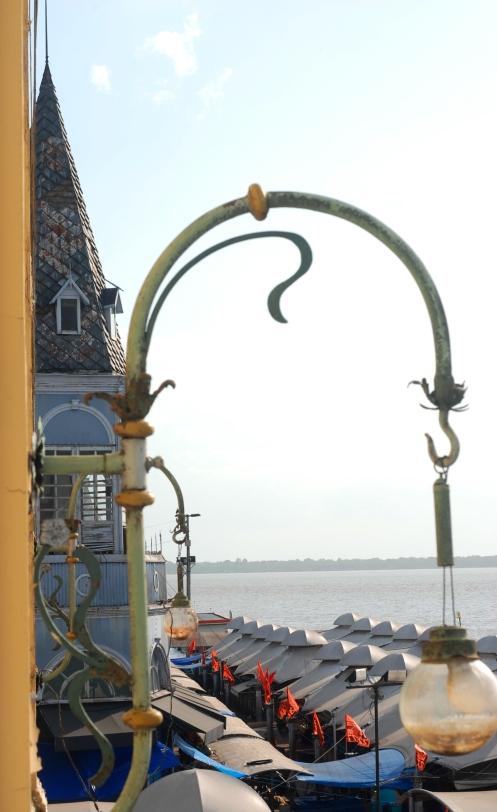 Belem de Pará desde el balcón