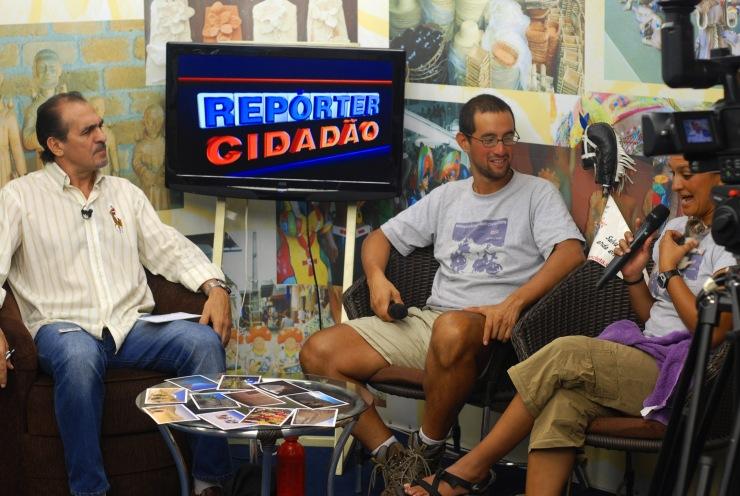 entrevista de TV