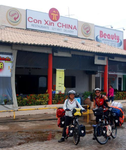 y llegamos a la Con Chin China