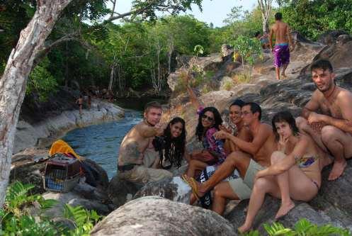 un día en las cachoeiras