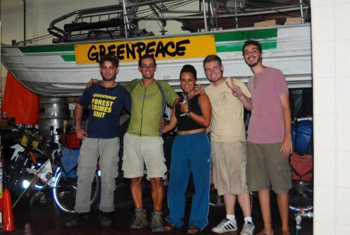 Greenpeace, Manaos, Brasil