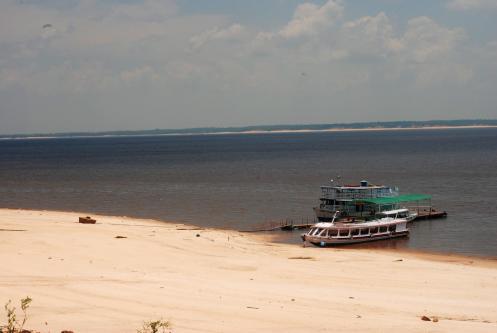 playa del Río Negro
