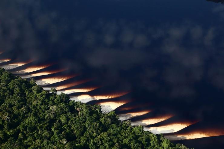 Fotografía de Rodrigo Baleia para Greenpeace- Parque Nacional de Anavilhanas