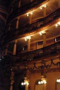 Teatro Amazonas desde su interior