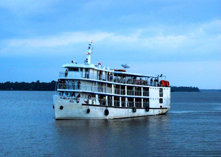 una semana en el Barco Nelio Correa