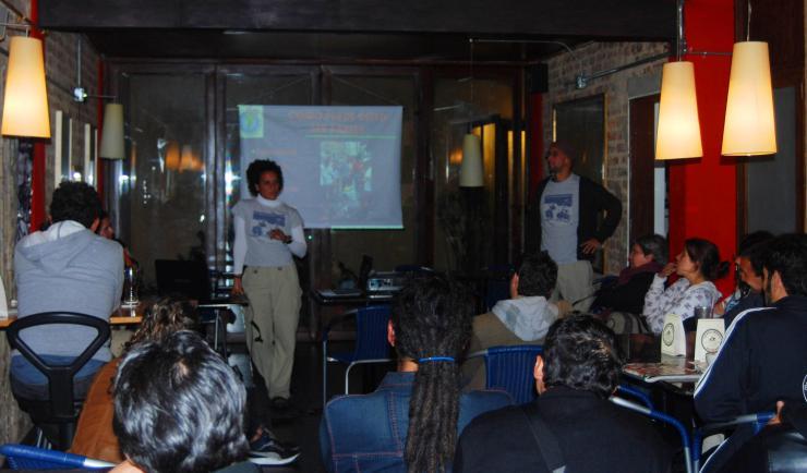 "charla para ""Mejor en bici"" Bogotá"