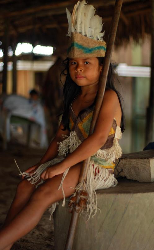 niña Ticuna