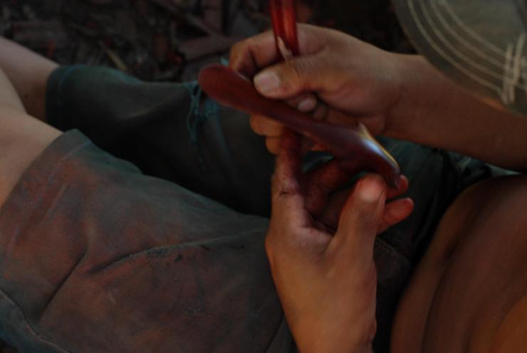 elaboración de artezanías en Macedonía
