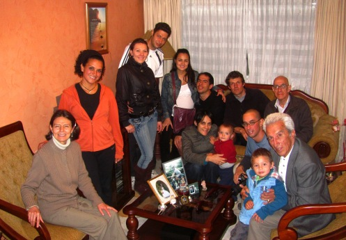 una reunión de familias