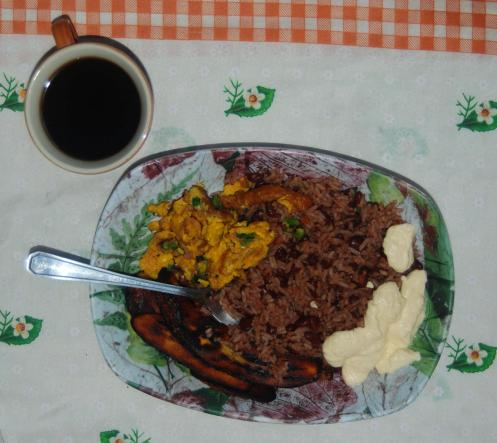 Gallo Pinto... plato típico costarricense