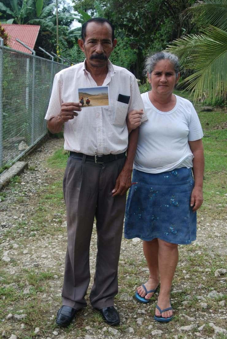 Don Israel y doña Isabel