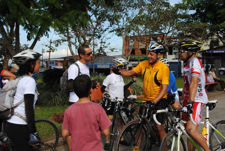 Antonio Alvarez Desanti y el grupo Aconvivir nos acompaño en la ultima etapa
