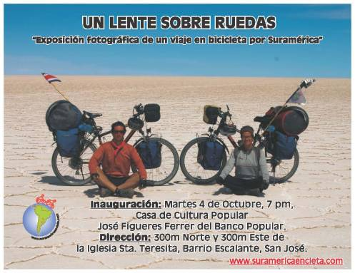 Invitación a la Exposición Un Lente Sobre Ruedas