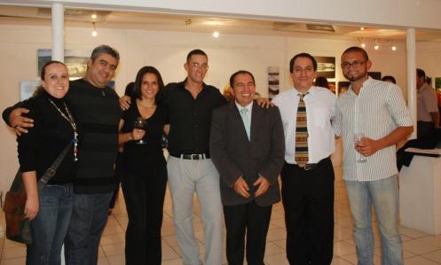 Nos acompañaron los pintores costarricenses Fabio Herrera, Mario Mafioli, Rafael Chamorro así como Paulina Segura y Gustavo Valle de Fotoclub