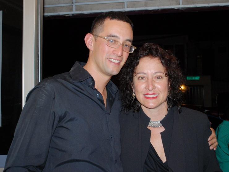 un verdadero honor que nos acompañara Florencia Urbina, pintora, artista y Directora del Museo de Arte Costarricense